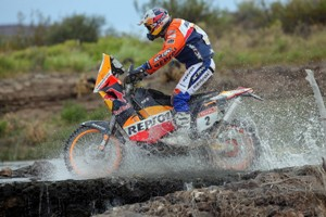 Coma currently leads Dakar. Photo: KTM Images
