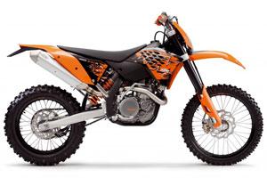 The KTM 450 EXC-R