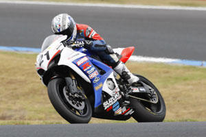 Waters leads ASBK heading into round number two in Tassie