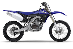 Yamaha's 2010 model YZ450F features radical new changes and evolutions in the Motocross world