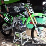 Mackenzie's Kawasaki gets ready to rumble.