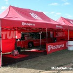 Husqvarna has a large presence in the Under 19s and Pro Lites field with a factory effort.