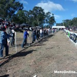 The fans always turn out for the Raymond Terrace round.