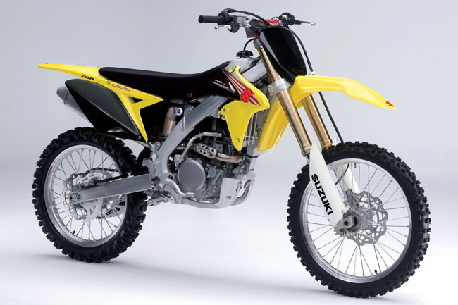 Suzuki's 2011 model RM-Z250 has had minimal revisions for the new year.