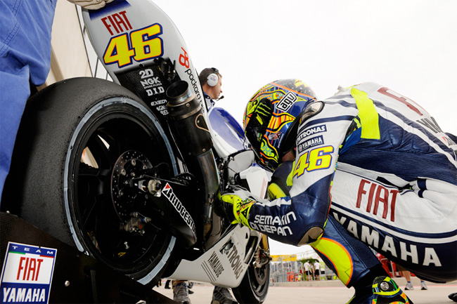 Is Valentino Rossi going to sit out the final two rounds of MotoGP 2010? Sources say yes...