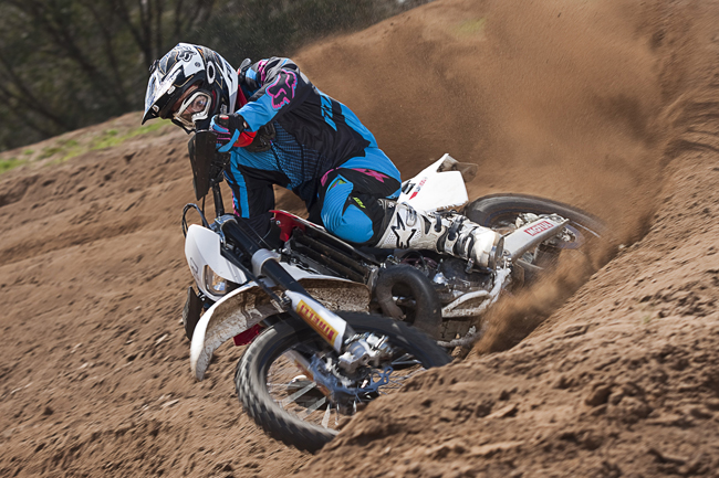 Husqvarna launched its 2011 moel WR250 and WR300 in Australia last month.