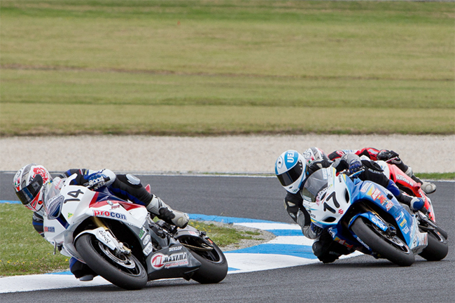The ASBK field is stacked with talent, but grid numbers could be a concern right through 2011. Image: TBG Sport/Andrew Gosling.
