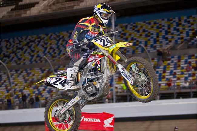 We haven't seen Metty since Daytona, but he's set for a big finish to the year when the outdoors commence this month.