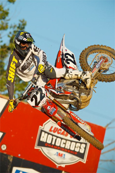 Aussie Chad Reed won Hangtown for the second year in a row on Sunday. Image: Simon Cudby/RacerXOnline.com.