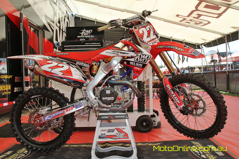 Inside Chad Reed's factory Two Two Motorsports Honda ...