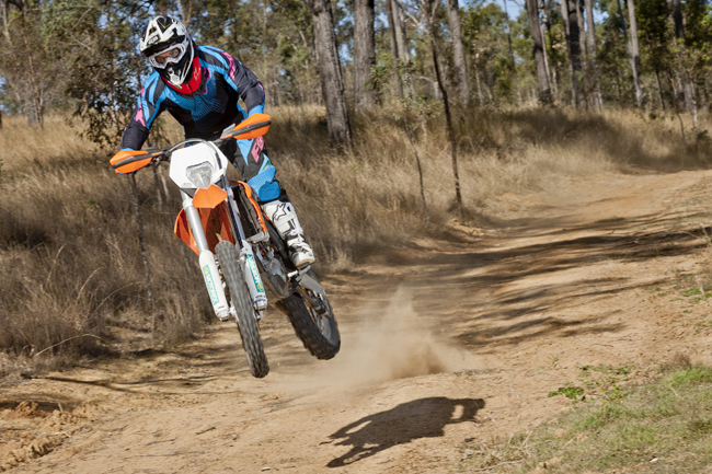 KTM's 350 EXC-F is the talking point of the Austrian manufacturer's off-road range.