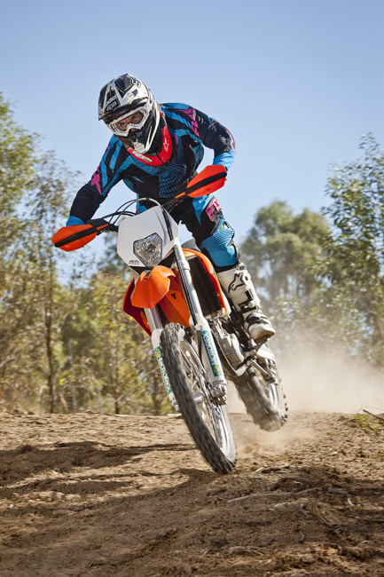 KTM has put its best foot forward when it comes to 450 EXC development in 2012.