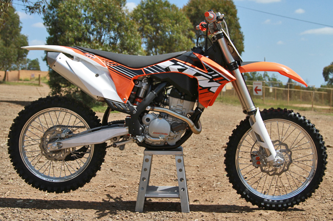 Still stock, MotoOnline.com.au broke in the brand new Project Moto this week. Image: Alex Gobert.