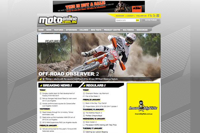 The Go: MotoOnline V2.0