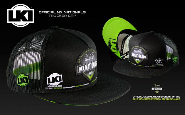 LKI unveils official MX Nationals trucker cap