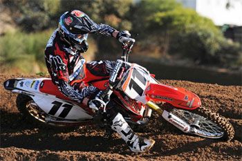 Addison to contest select MX Nationals with BCP Honda team
