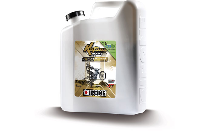 Ficeda launches Ipone Katana Off Road oil range