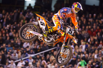 Dungey wins again in Las Vegas as GEICO Honda sweeps Lites