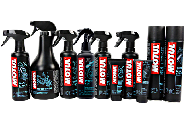 New Motul External MC Care range released