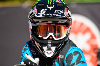 Catch Chad Reed live on SPEED at the Daytona Supercross this weekend. Image: Simon Cudby.