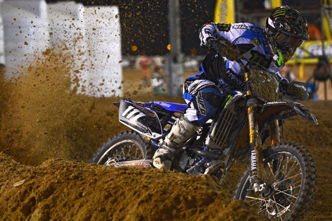 Ferris has quickly gelled with the Dixon-run Monster Energy Yamaha YZ250F.