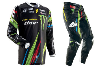 2013 Thor Monster Energy Pro Circuit gear released