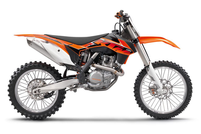 2014 model KTM SX Motocross range unveiled in Italy