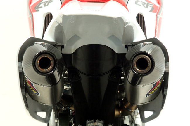 Arrow releases two new exhaust systems for Honda's 2013 model CRF450R