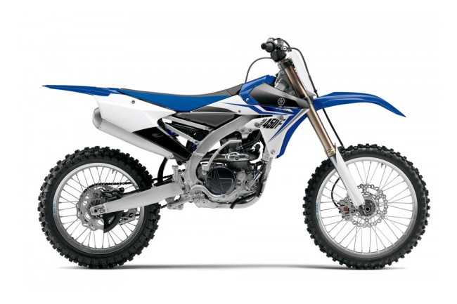 The all-new 2014 YZ450F.