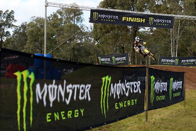 The Monster Energy MX Nationals are back in full swing and Matt Moss took the overall MX1 win on return. Image: Jeff Crow/Sport the Library.
