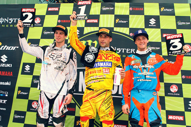 The MX2 class was action-packed at Appin. Image: Simon Makker/Makkreative.com.