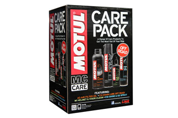Motul releases all-new Off Road MC Care Gift Pack
