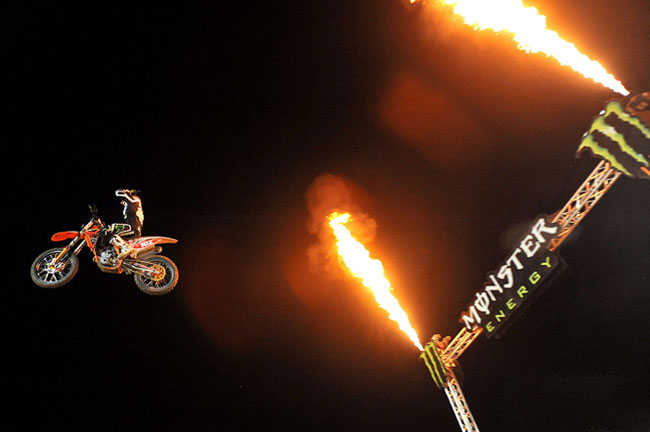 Rewind: Matt Moss' Australian Supercross Lites titles