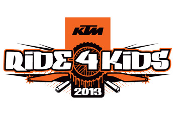 Additional prizes announced ahead of 2013 KTM Ride4Kids event