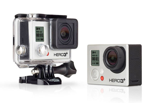GoPro launches smaller, lighter, upgraded HERO3+ cameras