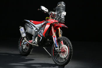 Honda releases official photos of brand new CRF450 RALLY