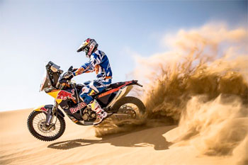 KTM to debut brand new 2014 450 Rally bike in Morocco next week
