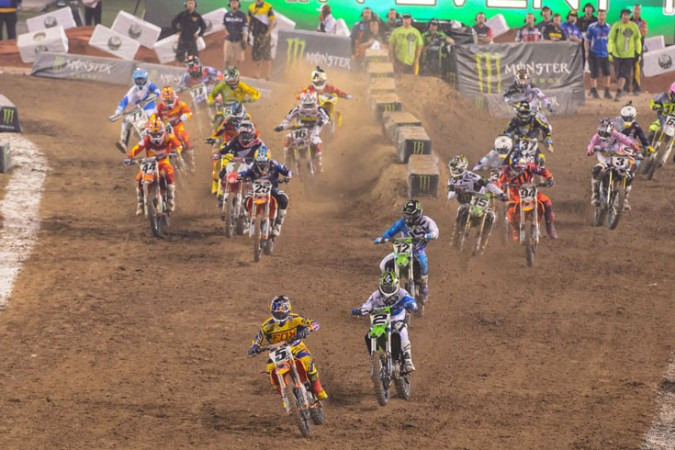 Wednesday Wallpaper: 2013 Monster Energy Cup start