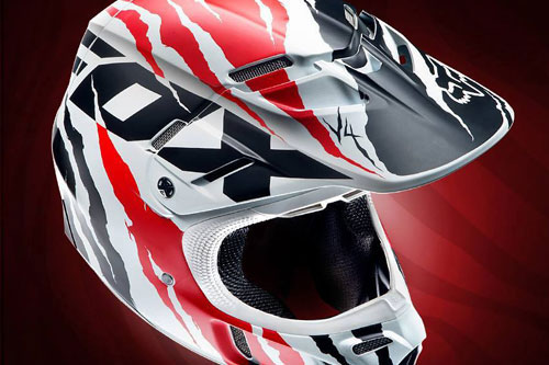 Fox announces arrival of 2014 V4 Forzaken Helmet