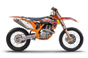 KTM updates 2014 model Factory Edition 450 SX-F