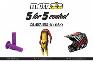 Week 3 of MotoOnline.com.au 5 for 5 Contest presented by ONE