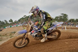 Mechanical sidelines Styke in MX2 at Si Racha