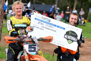 Gibbs claims Appin MX Nationals GoPro Super Pole