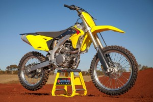 Suzuki's 2015 model RM-Z450 arrives in Australia