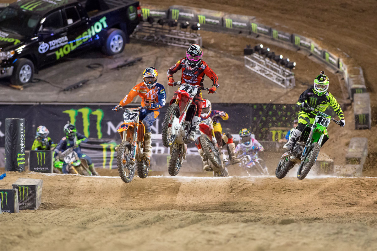 Q&A: Monster Energy Cup madness