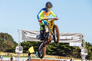 Knee injury spells end to Sutherland's supercross hopes