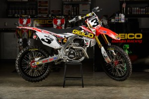 Product: D'COR Visuals Geico Honda Team Replica Graphics