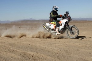 Price storms to fourth on Dakar stage eight