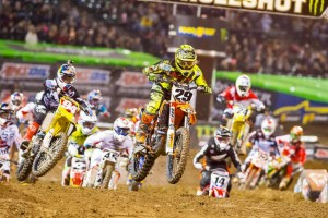 Highlights: 2015 AMA Supercross Rd4 Oakland