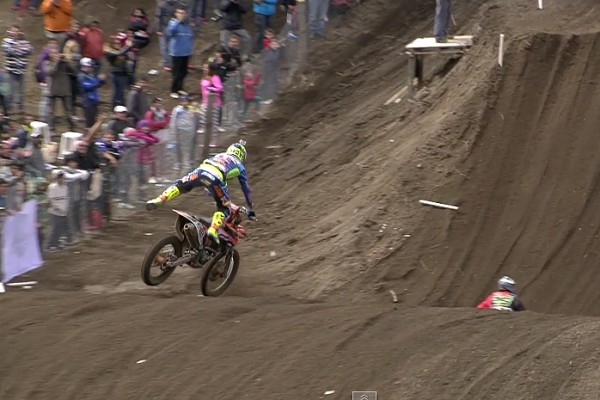Replay: Cairoli and Herlings' Argentina MXGP crashes